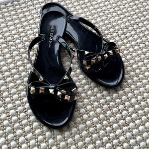 VALENTINO-like Rockstud Sandals Flip Flops